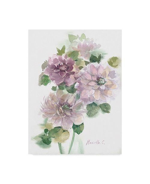 """Trademark Global Marietta Cohen Art And Design 'Flower Series 3' Canvas Art - 24"""" x 32"""""""