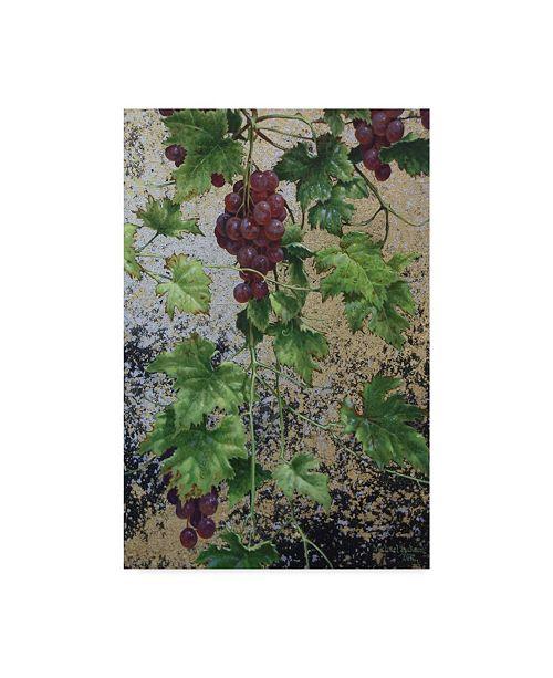"Trademark Global Michael Jackson 'Hanging Grapes' Canvas Art - 12"" x 19"""