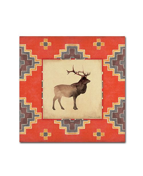 "Trademark Global Stephanie Marrott 'Elk Blanket' Canvas Art - 24"" x 24"""
