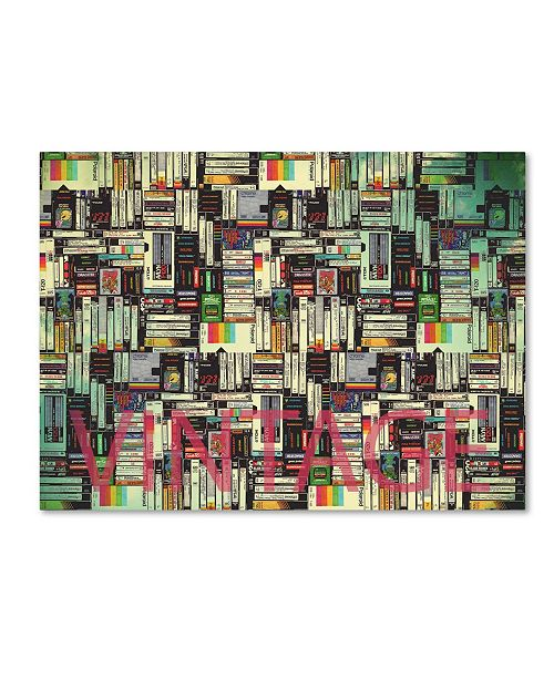 "Trademark Global Mark Ashkenazi 'Vintage' Canvas Art - 24"" x 32"""