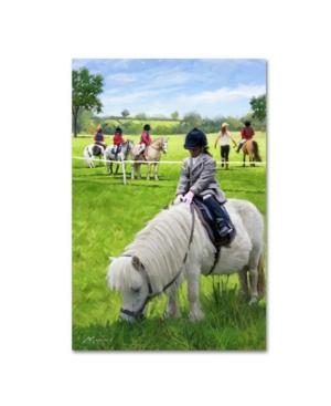 """The Macneil Studio 'pony Club' Canvas Art - 30"""" X 47"""""""