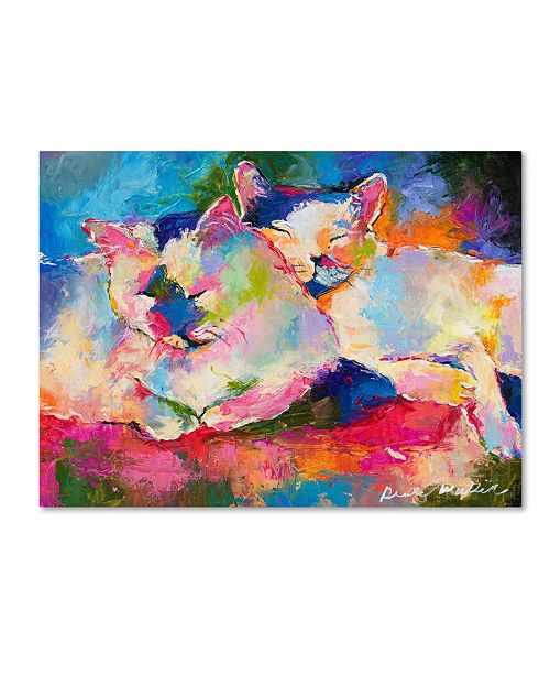 "Trademark Global Richard Wallich 'Mac & Jack' Canvas Art - 24"" x 32"""