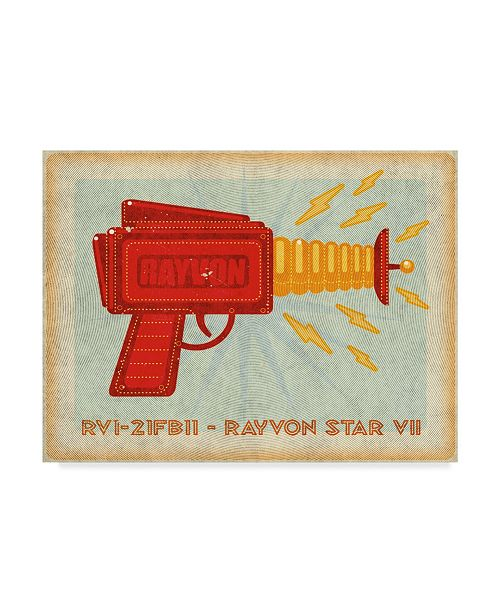 "Trademark Global John W. Golden 'Rayvon Star' Canvas Art - 35"" x 47"""