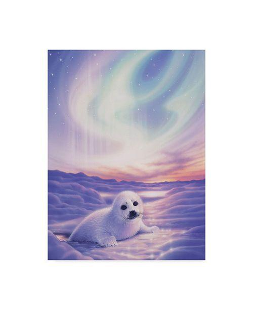 "Trademark Global Kirk Reinert 'Baby's Love' Canvas Art - 35"" x 47"""