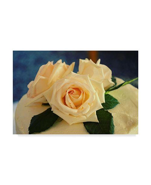"""Trademark Global Lance Kuehne 'Wedding Cake' Canvas Art - 30"""" x 47"""""""