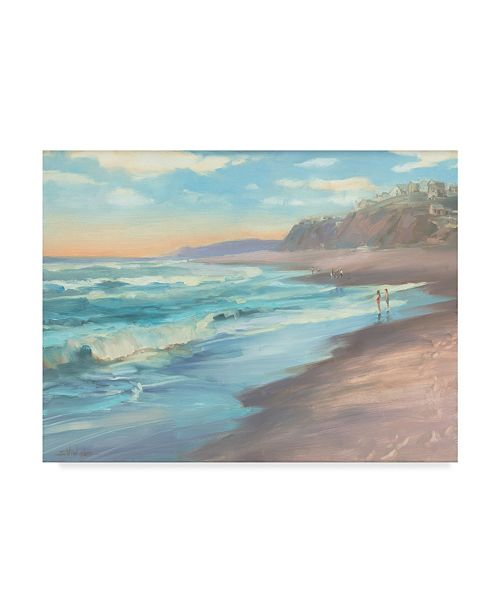 "Trademark Global Steve Henderson 'On The Beach' Canvas Art - 35"" x 47"""