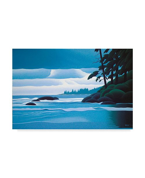 "Trademark Global Ron Parker 'Heavy Skies' Canvas Art - 30"" x 47"""