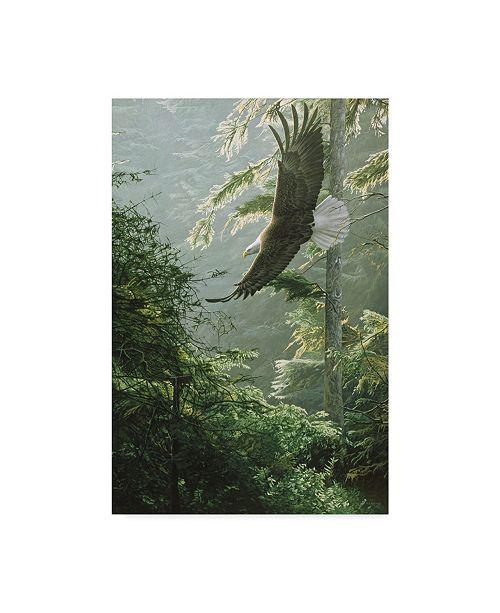 "Trademark Global Ron Parker 'Morning Flight Eagle' Canvas Art - 22"" x 32"""