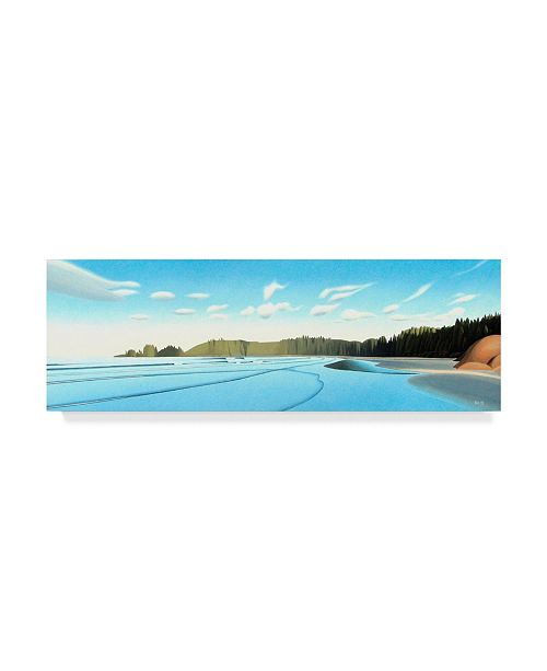 "Trademark Global Ron Parker 'Wickaninnish Bay' Canvas Art - 6"" x 19"""