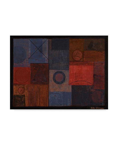 "Trademark Global Peter McClure 'Periphery' Canvas Art - 35"" x 47"""