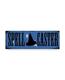 """Valarie Wade 'Spell Caster' Canvas Art - 8"""" x 24"""""""