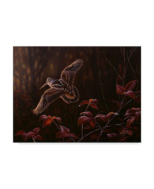 "Trademark Global Wilhelm Goebel 'Twittering Wings' Canvas Art - 35"" x 47"""