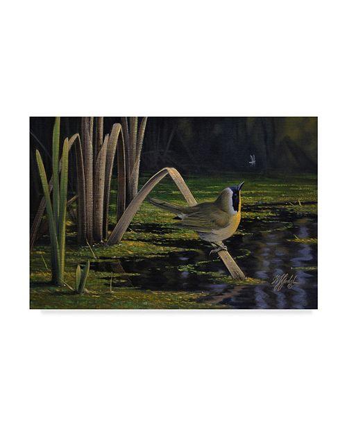 """Trademark Global Wilhelm Goebel 'Yellow Throat' Canvas Art - 30"""" x 47"""""""