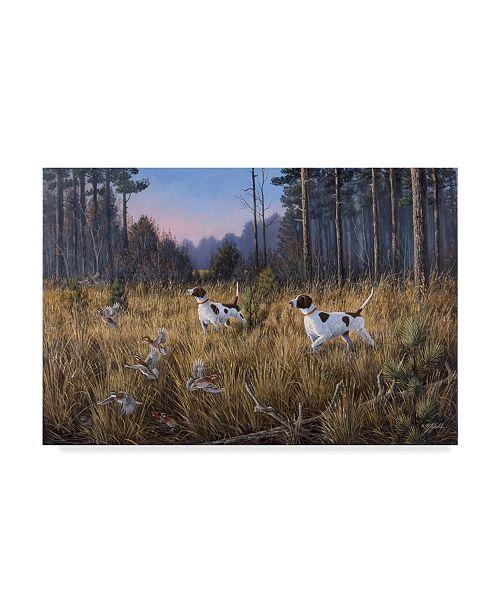 "Trademark Global Wilhelm Goebel 'Flushed' Canvas Art - 22"" x 32"""