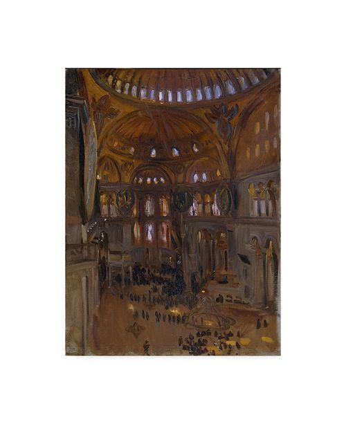 "Trademark Global John Singer Sargent 'Santa Sofia' Canvas Art - 32"" x 24"""
