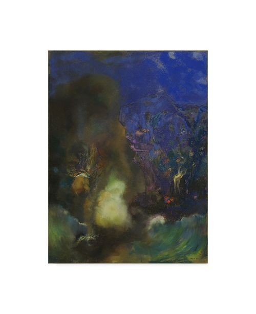 """Trademark Global Odilon Redon 'Roger And Angelica' Canvas Art - 24"""" x 18"""""""