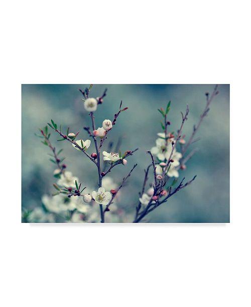 "Trademark Global Incredi 'Spring Impressions' Canvas Art - 32"" x 22"""