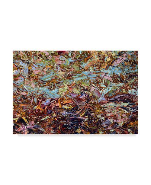 "Trademark Global James W. Johnson 'Paint 1' Canvas Art - 32"" x 22"""