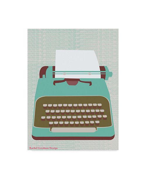 "Trademark Global Rachel Gresham 'Type' Canvas Art - 24"" x 32"""