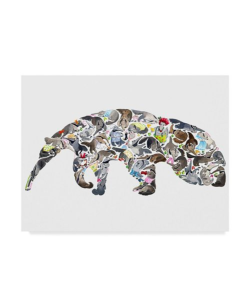 "Trademark Global Louise Tate 'Anteater' Canvas Art - 47"" x 35"""