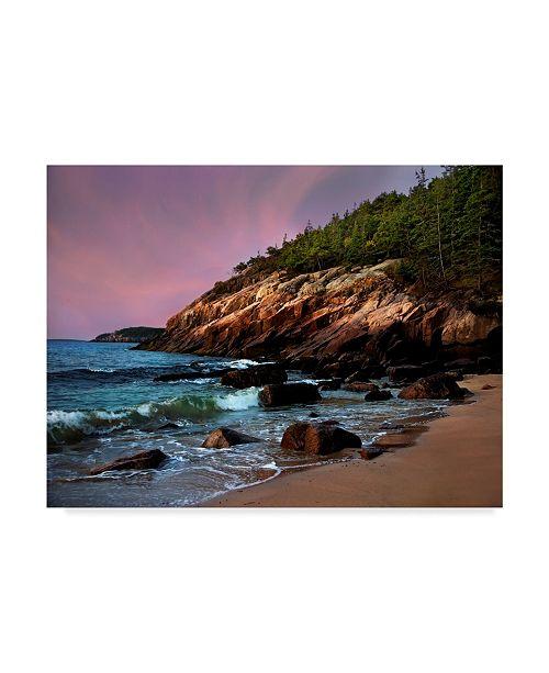"Trademark Global Natalie Mikaels 'Acadia Magic' Canvas Art - 24"" x 18"""