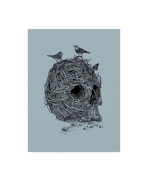"Trademark Global Rachel Caldwell 'Skull Nest' Canvas Art - 24"" x 32"""