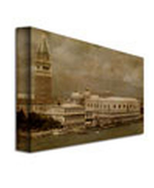"Trademark Global Lois Bryan 'Bellissima Venezia' Canvas Art - 47"" x 35"""