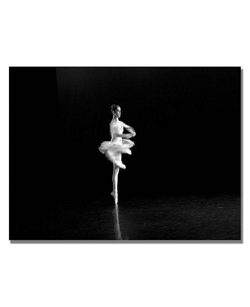 "Trademark Global Martha Guerra 'Ballerina II' Canvas Art - 32"" x 22"""