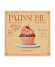 "Fiona Stokes-Gilbert 'Cupcake' Canvas Art - 14"" x 14"""