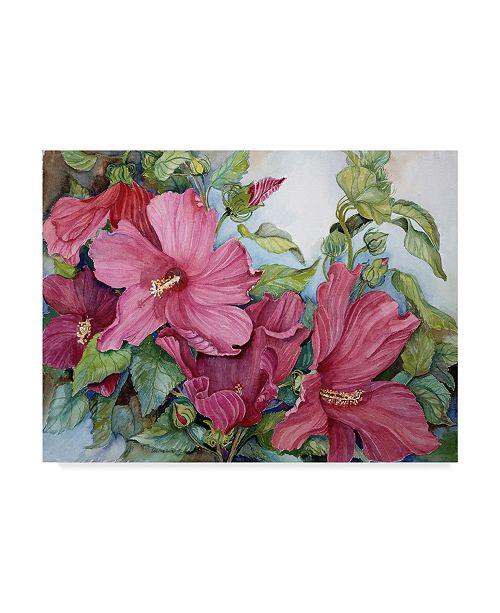 "Trademark Global Joanne Porter 'Tropical Heat' Canvas Art - 14"" x 19"""