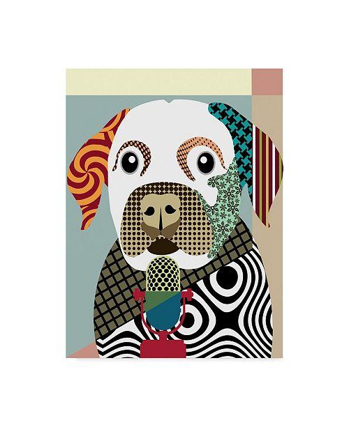 """Trademark Global Lanre Adefioye 'Labrador Retriever' Canvas Art - 14"""" x 19"""""""