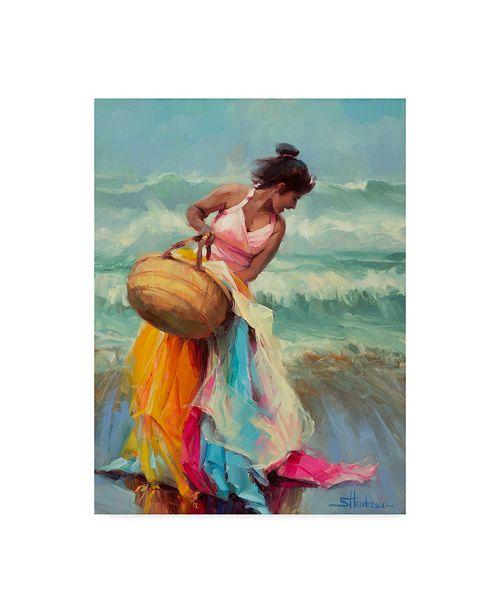 "Trademark Global Steve Henderson 'Brimming Over' Canvas Art - 14"" x 19"""