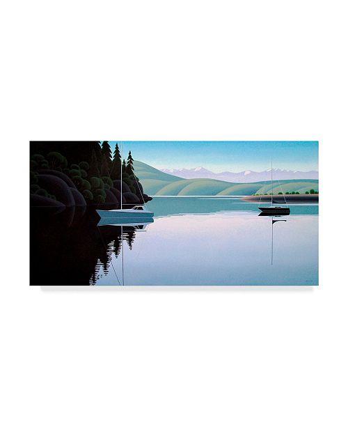"Trademark Global Ron Parker 'Safe Harbor' Canvas Art - 12"" x 24"""