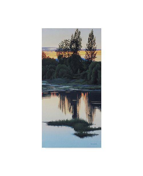 "Trademark Global Ron Parker 'Sundown' Canvas Art - 12"" x 24"""