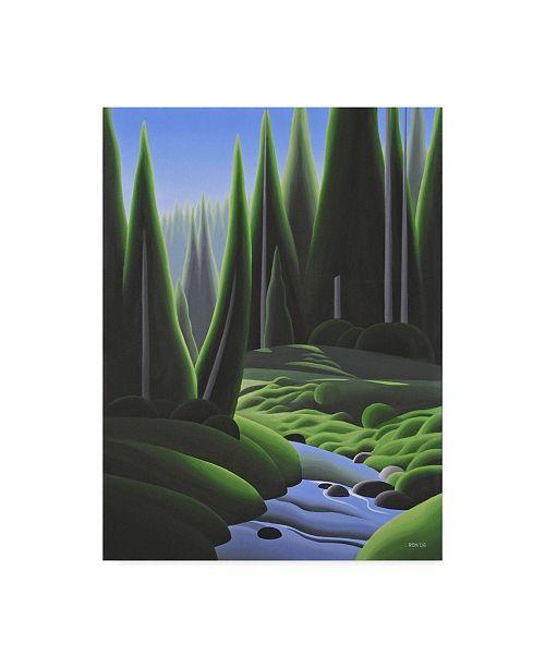 "Trademark Global Ron Parker 'Alpine Summer' Canvas Art - 14"" x 19"""