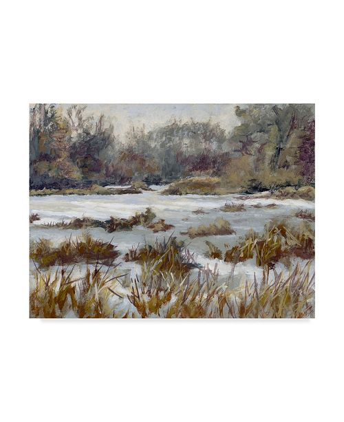 "Trademark Global Rusty Frentner 'Kensington Metro Park' Canvas Art - 14"" x 19"""