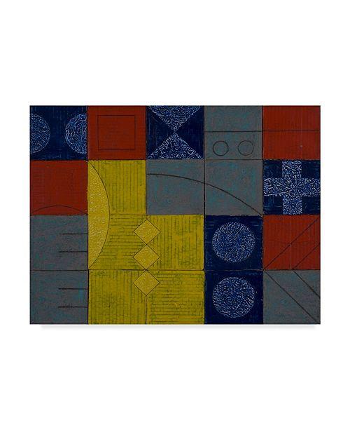 "Trademark Global Peter McClure 'Deconstruct This' Canvas Art - 14"" x 19"""