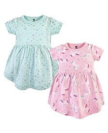 Cotton Dress, 2 Pack, 2T-5T
