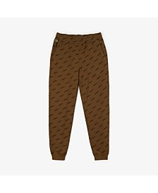 Lacoste Men's L!VE Allover Logo Track Pant