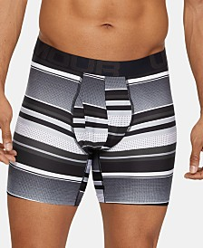 Under Armour Men's UA Tech Logo-Print Boxer Briefs