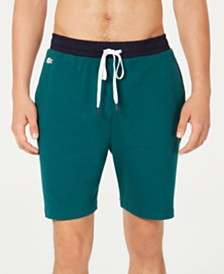 Lacoste Men's Colorblocked Pajama Shorts, Created for Macy's