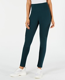 I.N.C. Moto Shaping Leggings with Extended Sizes, Created for Macy's