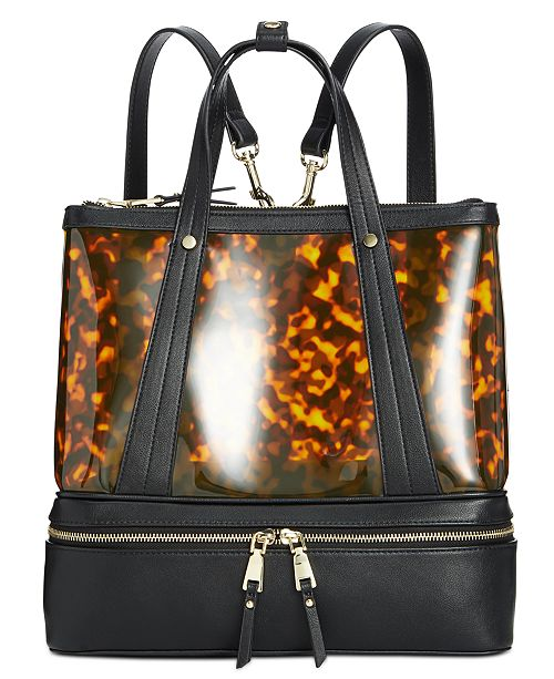 INC International Concepts I.N.C. Clear Convertible Backpack, Created for Macy's