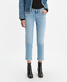 Women's Boyfriend Tapered-Leg Jeans