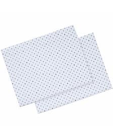 ED Ellen DeGeneres Printed Cotton Percale King Pillowcase Pair
