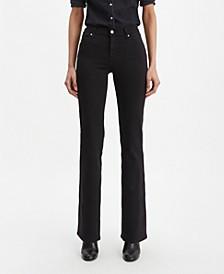 Women's Curvy Bootcut-Leg Jeans