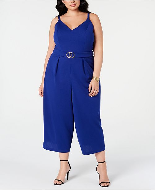 Emerald Sundae Trendy Plus Size Embellished Jumpsuit