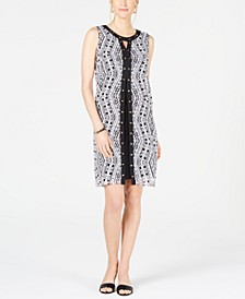 Studded Split-Front Sheath Dress, Created for Macy's