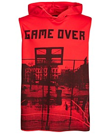 Big Boys Graphic-Print Hooded Tank Top, Created for Macy's