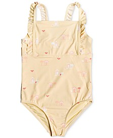 Toddler & Little Girls 1-Pc. Tropical Getaway Swimsuit
